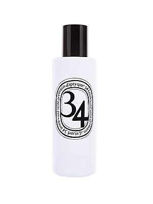 Image of 34 Boulevard Saint Germain is a fragrance celebrating our 50th anniversary. The 34 Boulevard Saint Germain room spray has a scent which reveals itself as fresh, green and spicy accords. Damp mosses, crumpled blackcurrant leaves, sun-dried fig leaves all f