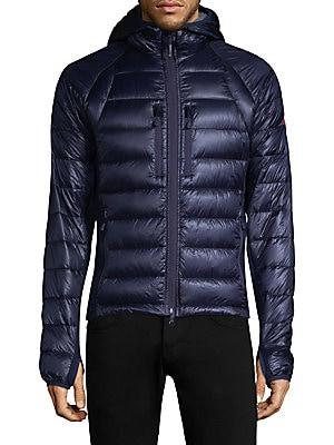 canada goose spirit blue hybridge lightweight down jacket