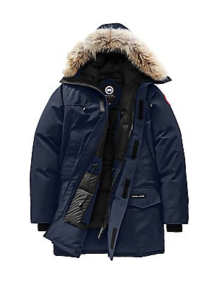 Image of A classic parka style features an attached hood with a removable fur trim and heavy duty, rib-knit cuffs to keep out the cold and snow. Attached hood with removable coyote fur trim Zip front Storm placket with grip-tape closure Waist flap pockets Two inte