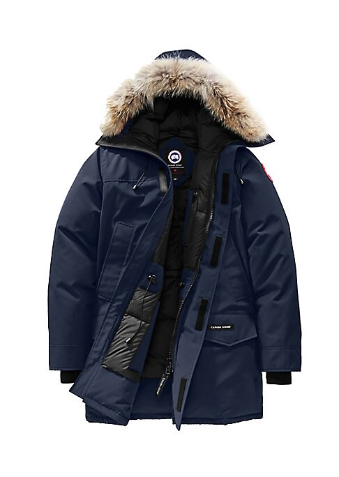 Image of A classic parka style features an attached hood with a removable fur trim and heavy duty, rib-knit cuffs to keep out the cold and snow. Attached hood with removable coyote fur trim. Zip front. Storm placket with grip-tape closure. Waist flap pockets. Two