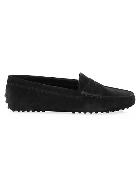 Gommino Suede Driving Loafers