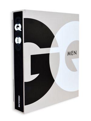 ASSOULINE Gq Men Book in Black White Grey