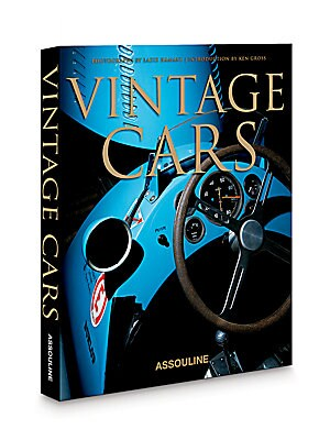 Image of Featuring exquisite photography of premium antique automobile models by renowned photographer Laziz Hamani, this book is a tribute to the great automobiles of the past and the undeniable fascination they hold for many passionate collectors today. Hardcove