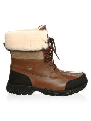 Men's Butte Sheepskin Leather Boots