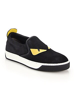 27ebefff Fendi - Monster Slip-On Sneakers