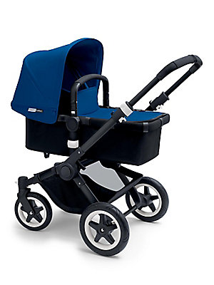 Image of Choose your favorite color to go with your Bugaboo Buffalo and refresh your set for a different season. The extendable sun canopy will make sure you offer your child extra protection against sun, wind and rain. Sun canopy and bassinet apron Extendable UPF