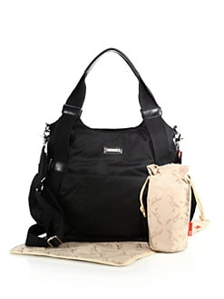 Tania Bee Diaper Bag Black Product Image
