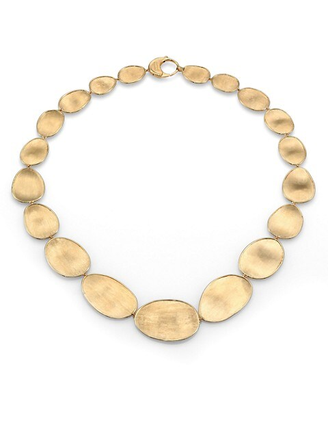 Lunaria 18K Yellow Gold Necklace