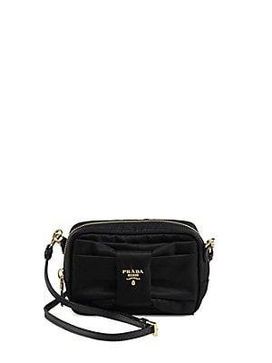 4026908e36797f Prada - Tessuto Nylon Bow Crossbody Bag - saks.com