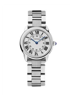 Cartier Ronde de Cartier Solo Small Stainless Steel Bracelet Watch