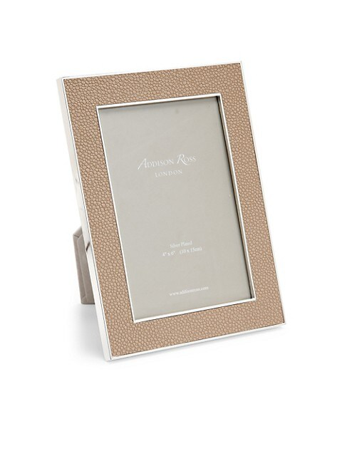 Rectangle Silver-Plated Photo Frame