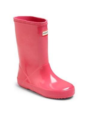 Infant's, Toddler's & Kid's Gloss Original Rubber Rain Boots