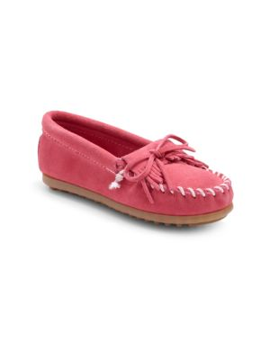 Toddler's & Kid's Kilty Suede Moccasins