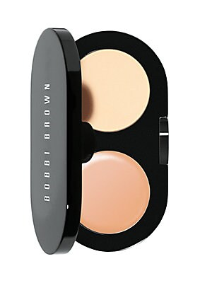 Image of What it Is: A best-selling compact that includes Bobbi Brown's yellow-based Creamy Concealer to instantly camouflage under eye darkness, and pressed powder to set concealer for long-lasting wear. Made in USA. Who it's For: Anyone who wants to conceal unde
