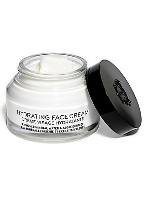 Image of A limited offering, Bobbi's Hydrating Face Cream comes in a special size. This rich yet lightweight formula instantly hydrates throughout the day. Skin is smooth and plumped; makeup stays fresh and glowing thanks to a long-lasting cushion of humectants an