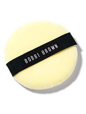 Image of Use the Bobbi Brown Powder Puff to evenly apply Face Powder or Sheer Finish Loose Powder. Cosmetics - Bobbi Brown > Saks Fifth Avenue. Bobbi Brown.