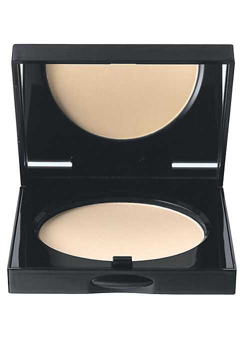 Image of .WHAT IT IS.A pressed powder that sets and perfects foundation for a smooth, flawless finish. This sheer powder is 100% oil-free and oil-absorbing, with vitamin E for the most comfortable wear. Made in USA. WHO IT'S FOR. Great for all skin types-especiall