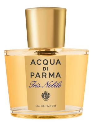 Image of A rare and noble world full of exclusive sophistication and natural beauty, the Le Nobili collection reveals Italy's most historical and unique flowers. The iris, a symbol of royalty and nobility since ancient times, is interpreted in this eau de parfum c