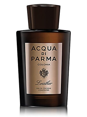 Image of An original creation born from the unconventional pairing of the freshness of citrus notes found in the iconic Colonia fragrance with the rich and sensual caress of aromatic leather. Colonia Leather Eau de Cologne Concentrée recalls the artistic luxury an