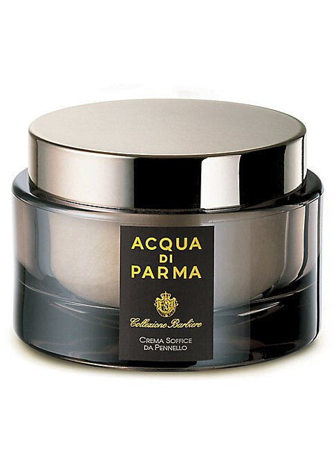 Image of Acqua di Parma combines its distinguished heritage of artisan craftsmanship with the expertise of master Italian barbers to redefine grooming rituals for the modern gentleman. Ideal for thicker beards and those who prefer traditional shaving methods. The