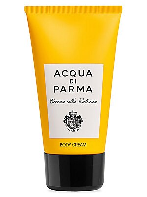 Image of A hydrating hand and body cream rich in emollient ingredients and scented with the classic universal citrus scent of the Colonia fragrance. 5 oz. Fragrances - Acqua Di Parma > Saks Fifth Avenue. Acqua Di Parma.