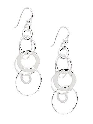 Ippolita Gl Sterling Silver Jet Set Drop Earrings
