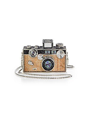 Swarovski Crystal Camera Minaudiere by Judith Leiber Couture