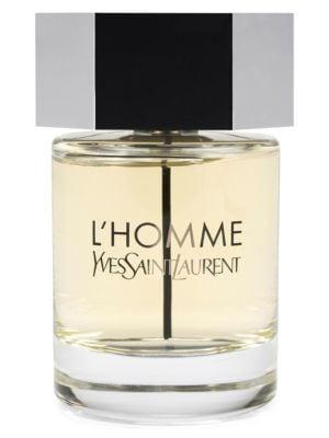 SAINT LAURENT L'Homme Eau De Toilette 3.3 Oz.