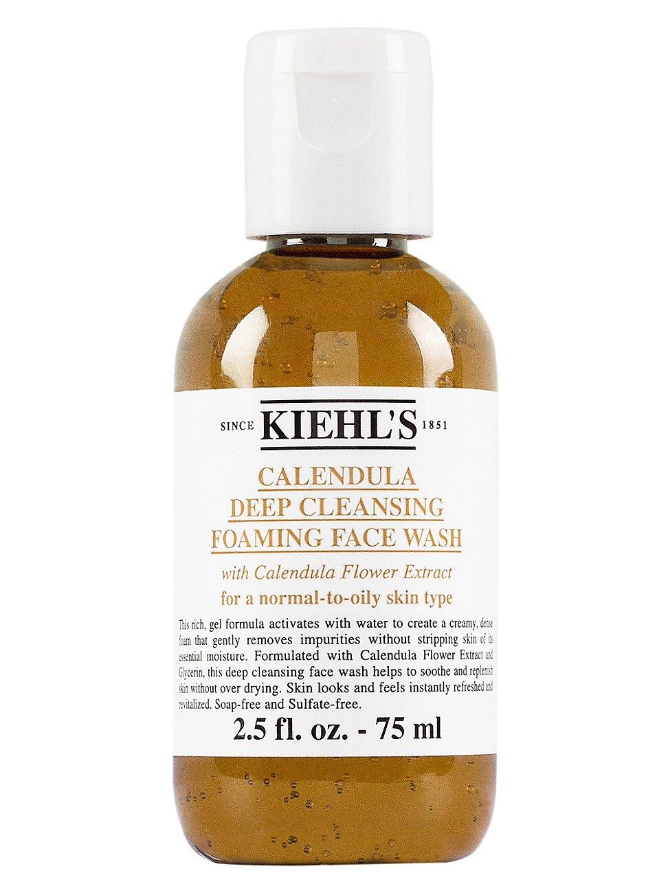Kiehl's Since 1851 1851 Calendula Deep Cleansing Foaming Face Wash