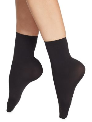 Velvet 66 Trouser Socks in Black