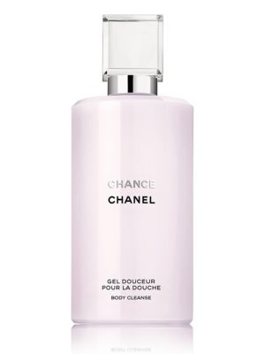 Image of Bath gel cleans and delicately scents skin with CHANCE, the unexpected CHANEL Fragrance. Conditioning formula produces a light lather that gently cleanses and softens skin. Dermatologist tested. 6.8 oz. Made in USA.