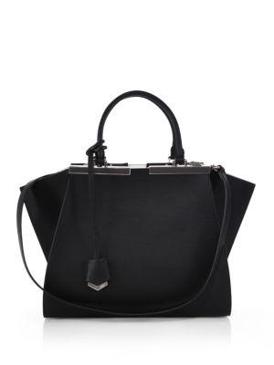 3 Jours Petite Leather Shopper by Fendi