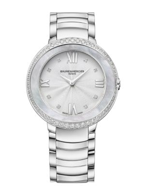 Promesse 10199 Stainless Steel Bracelet Watch
