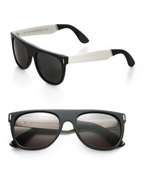 W Flat Top Sunglasses