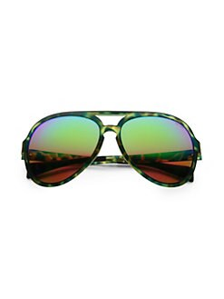 2698d676dd3c Italia Independent. 58MM Camouflage Aviator Sunglasses