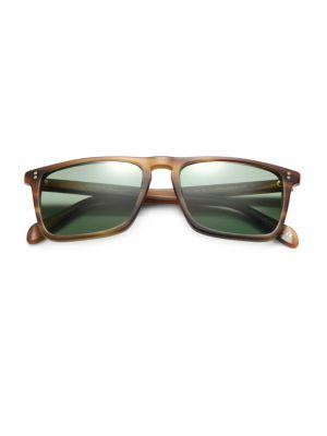 Bernardo Square Sunglasses / Cocobolo