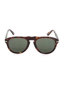 bf62383f65 QUICK VIEW. Persol. 52MM Retro Keyhole Sunglasses