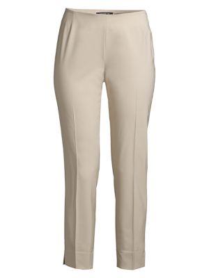 Fundamental Bi-Stretch Stanton Cropped Pants in Khaki
