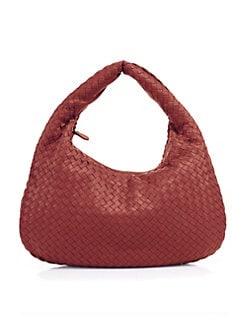 d05d2acfaba QUICK VIEW. Bottega Veneta. Medium Veneta Leather Hobo Bag