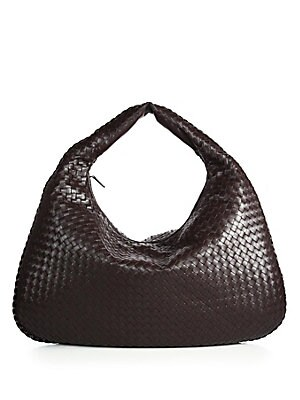 38d3dae99a34 Bottega Veneta - Veneta Medium Leather Hobo Bag - saks.com