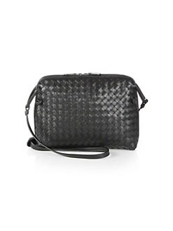 dbf76e7007fb Small Pillow Intrecciato Leather Crossbody Bag GREY. QUICK VIEW. Product  image. QUICK VIEW. Bottega Veneta