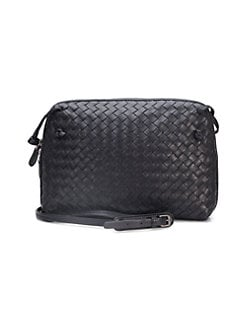 QUICK VIEW. Bottega Veneta. Small Leather Messenger Bag 205bec2bd0ee8