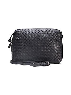 a7e95cd0a4d3 Bottega Veneta - Small Pillow Intrecciato Leather Crossbody Bag ...
