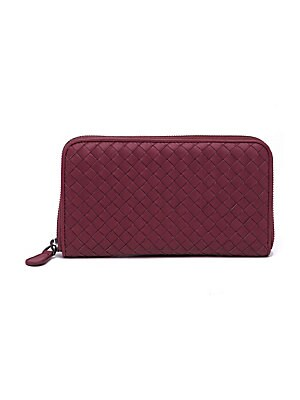 dcfc2b0def5a2 Bottega Veneta - Intrecciato Zip Continental Leather Wallet