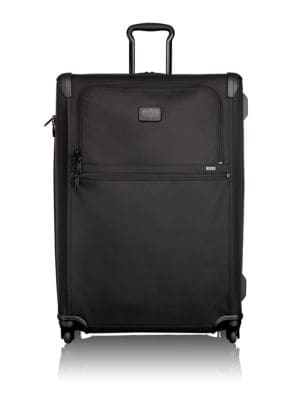 Image of This extra-roomy and versatile 4-wheel case has a removable garment sleeve and a multi-level, expandable main compartment. A reinforced garment sleeve holds up to two suits, while the interior features tie-down straps and zip pockets for accessories. .3-s