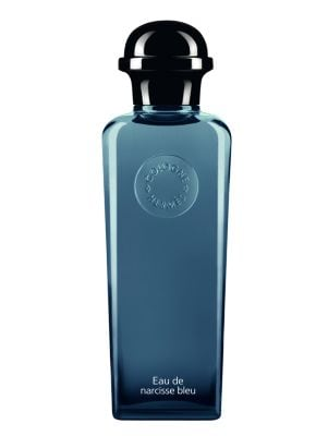 "Image of """"A completely free-spirited creation in which I particularly wanted to express the tactile aspect of the raw material."" Jean-Claude Ellena. An ode to a raw material endlessly reflected back by playing on its salient features, Eau de narcisse bleu pays an"