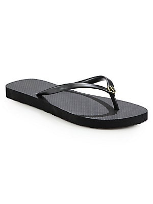 f7bdd0feab9e Tory Burch - Monroe Leather Thong Sandals - saks.com
