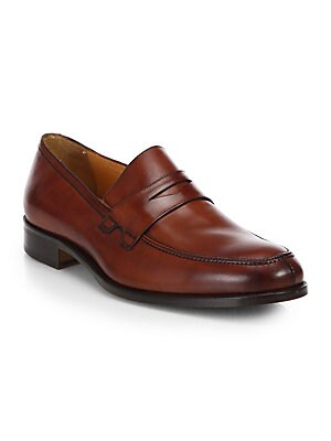 c727966baad90 To Boot New York - Alek Leather Penny Loafers - saks.com