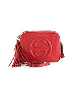 631d6474dab2 Soho Leather Disco Bag RED. QUICK VIEW. Product image