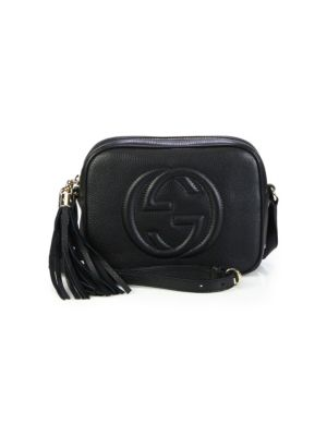 Soho Disco Leather Bag - Black in 1000 Nero